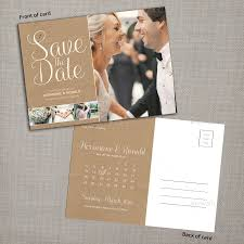 save the date calendar postcard by pallabip graphicriver