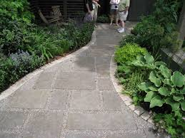 how to make a patio stone walkway home outdoor decoration