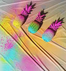 we love our diy neon pineapples pineapples pinterest neon