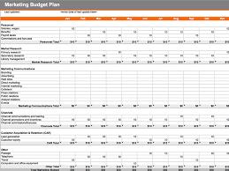 contoh format budget excel 7 free marketing budget templates marketing com au
