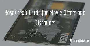 10 best credit cards for movies discounts and offers online indians