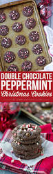 5 ingredient double chocolate peppermint cookies yellow bliss road