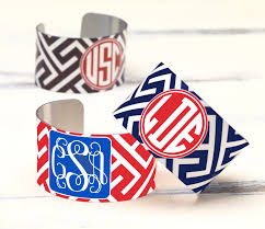 monogrammable items or to be
