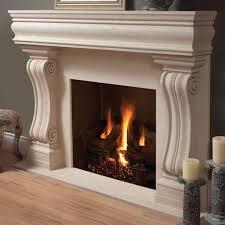 rock fireplace mantel shelf home decor waplag decorating cool