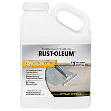 Sandpaper For Concrete Floor by Rust Oleum 1 Gal Paint Stripper For Concrete Case Of 4 310984