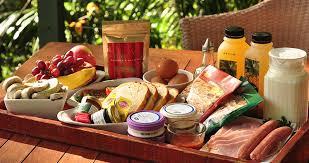 breakfast basket creek rainforest retreat in the byron gold coast