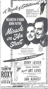 Miracle On 34th A Miracle Happened On 34th Street And 5th Avenue Twenty Four Frames