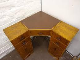 Corner Writing Desk Deco Corner Writing Desk Antiques Atlas