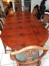 Yew Dining Table And Chairs Yew Dining Table And 6 Chairs In Norfolk Gumtree
