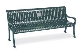 Commemorative Benches Garden Memorial Bench Specialty Series