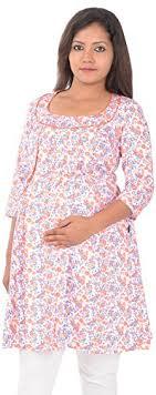 ziva maternity wear ziva maternity wear women cotton tops zmn1026 xl orange xl at