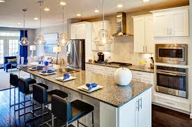 Airy Kitchen New Cornelius Vanderbilt Home Model At Executive Townes At