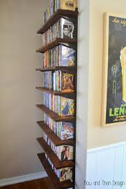 Dvd Shelves Woodworking Plans by Now And Then Design Dvd Storage Decor Pinterest Dvd Storage