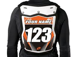 fox motocross body armour mx body armour backplate stickers ringmaster imagesringmaster images