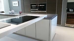 grey krion bright concrete u0026 white krion white star worktop