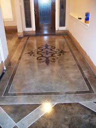 stenciled and stained concrete floors gorgeous stenciled and