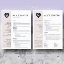 Nursing Resume Templates For Microsoft Word Nurse Resume Template 5 Pages Nursing Resume Template Nurse Cv