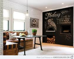 paint ideas for dining room chalkboard accents in 15 dining room spaces home design lover