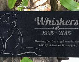 headstone markers pet grave markers etsy