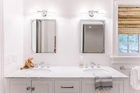 Restoration Hardware Lighting Sconces Boys Bathroom Design Transitional Bathroom
