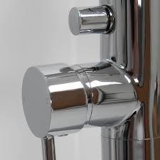 lusso luxe freestanding bath filler tap lusso luxe modern freestanding floor standing single lever chrome bath shower mixer tap
