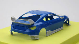 subaru brz body kit 1 24 s craft brz high performance body kit for tamiya hd03 0269