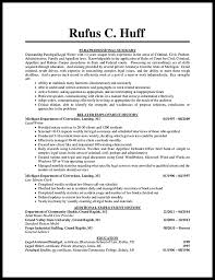 Paralegal Resume Template How To Write A Paralegal Resume With No Experience Resumedoc