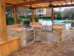 outdoor kitchen designs with fireplace u2013 home improvement 2017