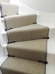 Sisal Stair Runner by Completed Stair Runner With Original 1930s Stair Clips Hall