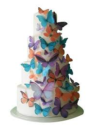 Wedding Decorations Butterflies Cake Topper Sale Cupcake Edible Butterfly Cake Toppers Maddison