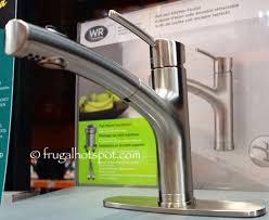 costco kitchen faucet water ridge style pull out kitchen faucet costco