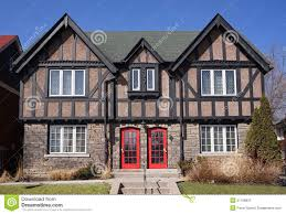 tudor house style tudor door and windows stock images image 33288354