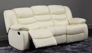 Recliner 3 Seater Sofa Savio Manual Recliner 2 Seater Sofa Top Grain Leather Delux Deco