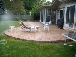 Cost Of Stamped Concrete Patio by Patio Fancy Patio Furniture The Patio On Cost Of Cement Patio
