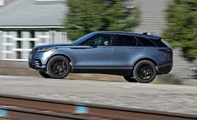 blue range rover interior 2018 range rover velar in depth model review car and driver