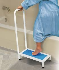 Bathtub Aids For Handicapped Amazon Com North American Healthcare Bath Step Supports Up To