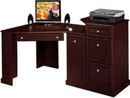 Small Computer Desk With Drawers Corner Desk With Drawers And File Cabinet