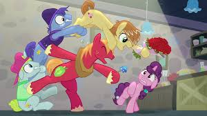 image big mac and feather bangs with flowers s7e8 png my