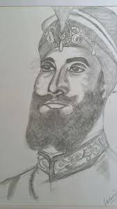 guru gobind singh ji jazmin banga drawings u0026 illustration