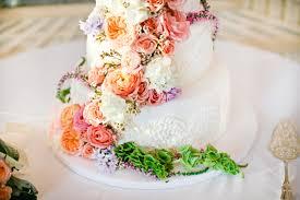 colorful floral wedding cake elizabeth anne designs the wedding