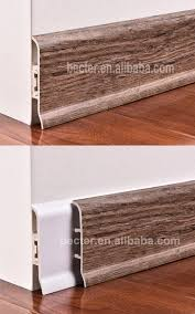 Skirting Board For Laminate Flooring Wood Grain Pvc Skirting Board 100mm For Laminate Flooring Buy