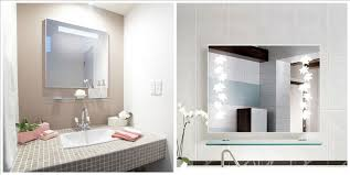 Bathroom Vanity And Mirror Wonderful Bath Vanity Mirrors Frameless Mirrorsframeless Within