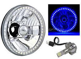 5 3 4 blue halo angel eye hid 6500k led light bulb motorcycle