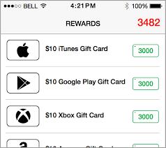 gift card reward apps rewards png