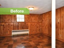 painted wood walls knotty to painted wood paneling lightens a room s look
