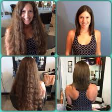 cut and inch off hair i cut 14 inches off of my hair to donate along with a keratin