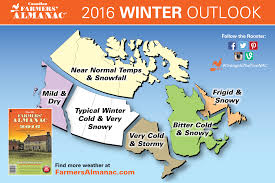Whistler Canada Map by 2016 Winter Weather Prediction Farmers Almanac Canada