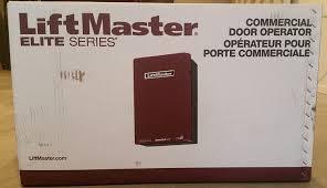 garage door opener track liftmaster elite series t501l5 commercial trolley garage door