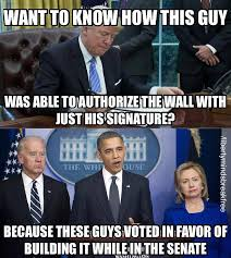 Build Meme - here s why trump can build the wall thanks to democrats meme
