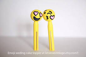 wedding cake emoji emoji wedding cake topper emoji handmade emojis